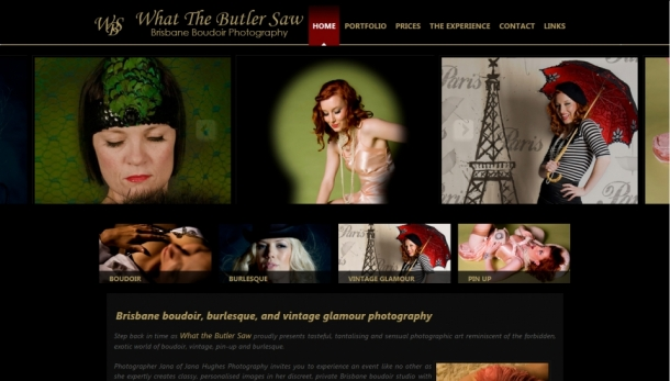 WHAT THE BUTLER SAW PHOTOGRAPHY